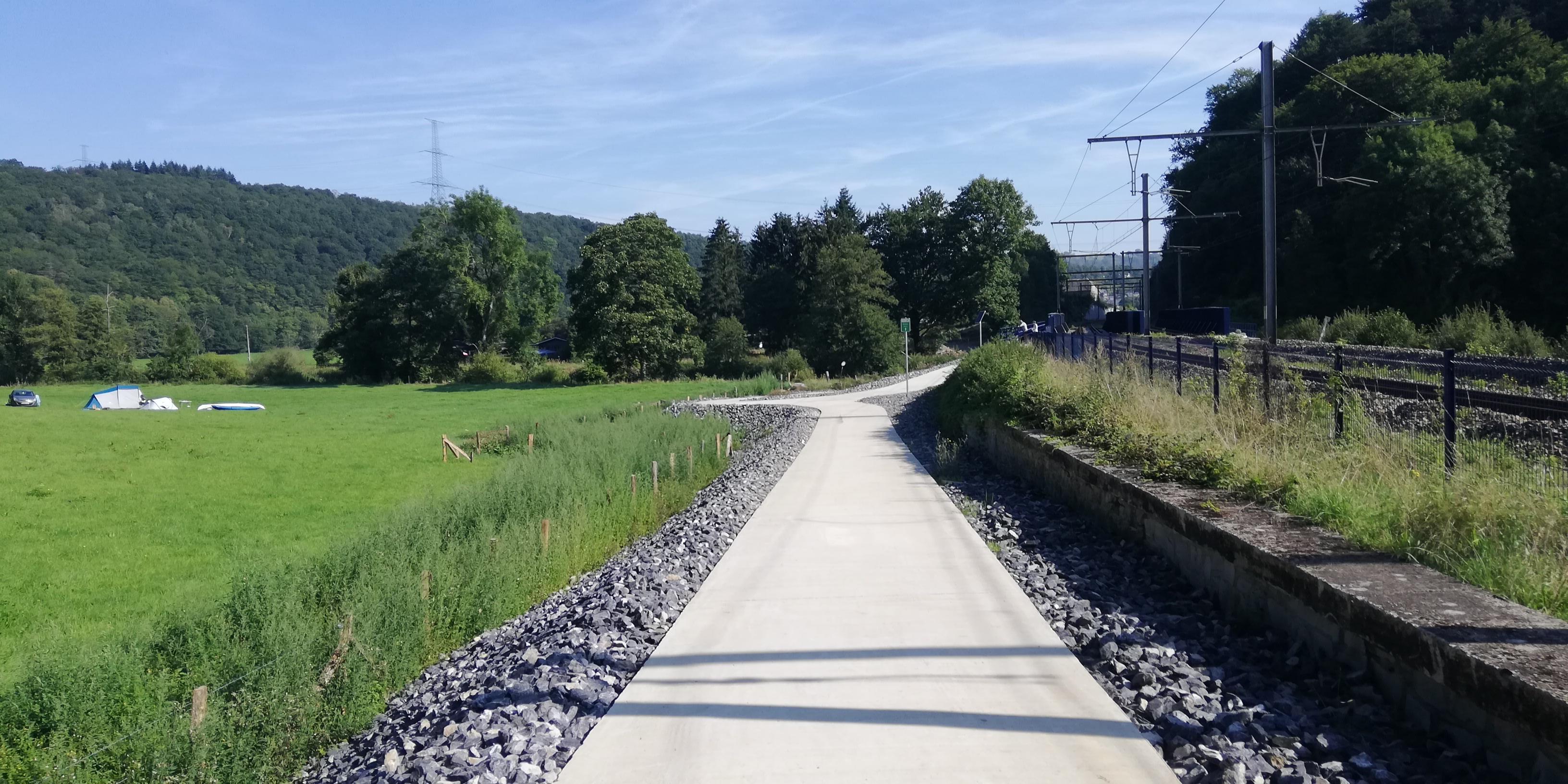 RAVeL 5 Ourthe Liege - Durbuy - Itinéraire N°7 - Sur la route des Ardennes - Page 5 Img_20190825_104302